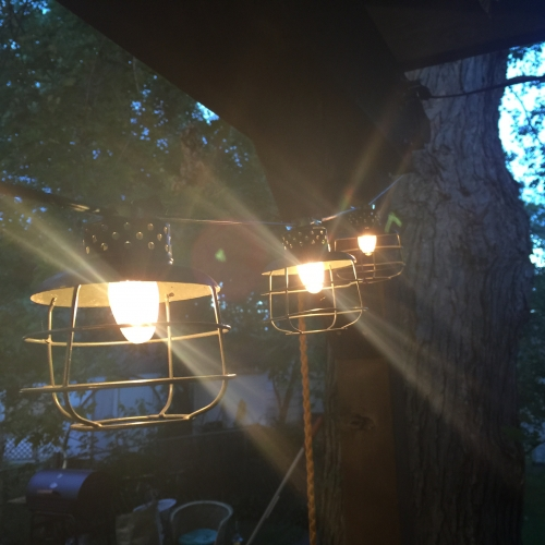 Industrial Cage String Lighting