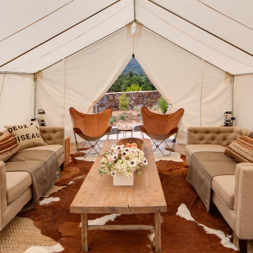 Armstrong Lounge Tent
