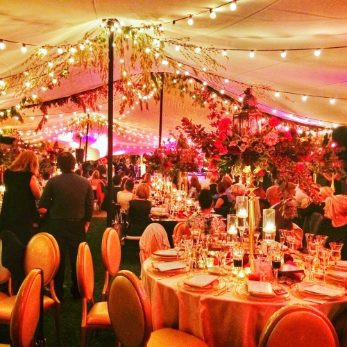 85x40 Stretch Tent - Wedding