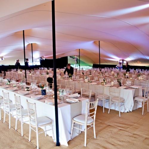 85x50 Stretch Tent  - Wedding