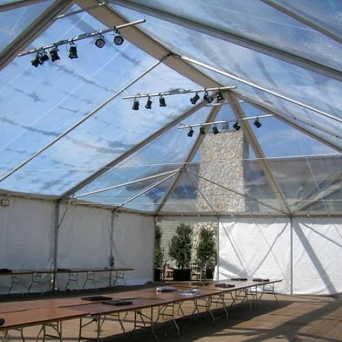 Canopy Standard Frame Clear  40x80