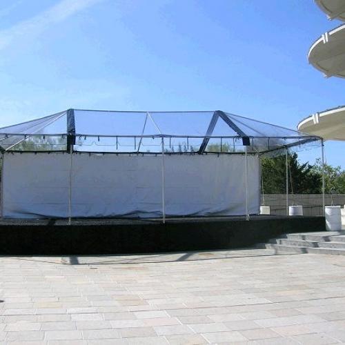 Canopy Standard Frame Clear  20x20