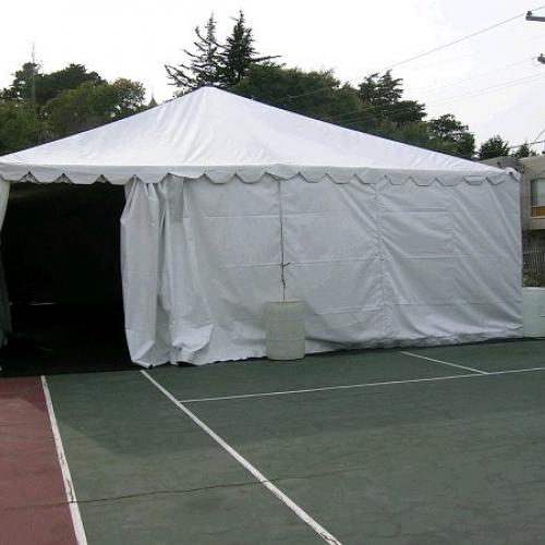 Canopy Standard Frame White  30x70