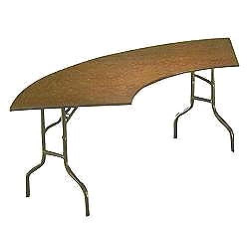 Serpentine Table Large -5.5' inside edge