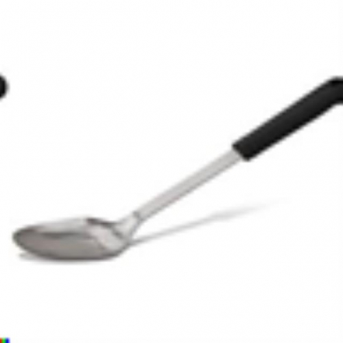 Large Serving Spoon Black