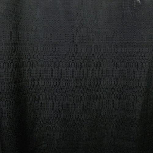 Pipe and Drape  3x4 Black