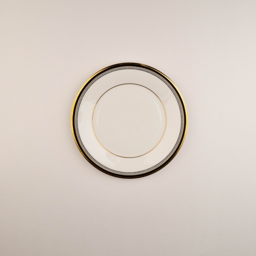 Black Tie Collection Salad Plate