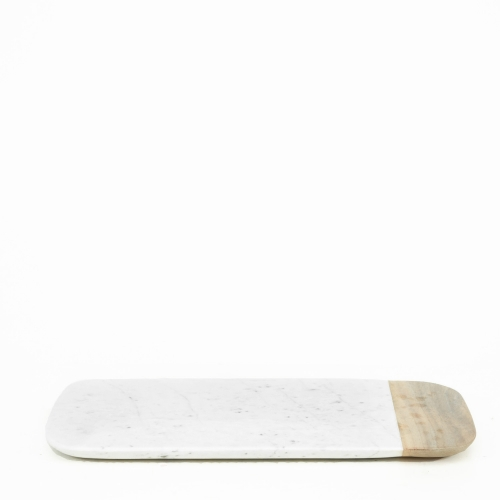 Marble + Wood Cheese Board